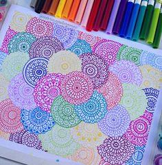 Easy Mandala Drawing, Mandala Doodle, Mandala Art Lesson, Doodle Art Drawing, Mandala Painting, Mandala Artwork, Sharpie Drawings, Sharpie Art, Pencil Art Drawings