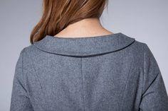 Salwar Neck Designs, Dress Neck Designs, Collar Designs, Kurta Designs, Blouse Designs, Warm Dresses, Winter Dresses, Designer Anarkali Dresses, Frocks For Girls