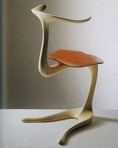 Bone, Ross Lovegrove 1996 Wow - I'm channeling Salvador Dali in the worst way looking at this chair!