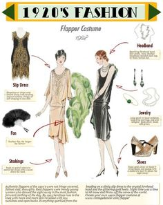 Flapper Costume 101 Via