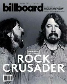 Dave Grohl Foo Fighters Billboard Magazine