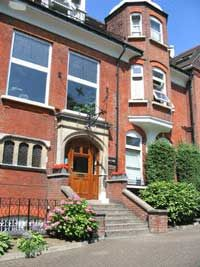Danish YWCA - my home in London in 1983-84. 43 Maresfields Gardens in Hampstead. What a lovely time.