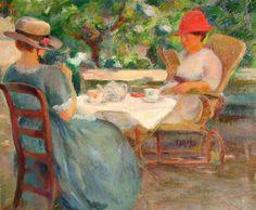 Fernand Blondin (Suíça, 1887-1967) óleo sobre tela, 84 x 102cm Mark Murray Fine Paintings