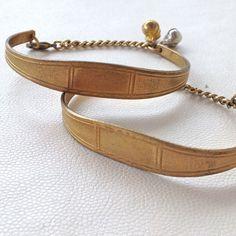 ID Bracelet- Vintage Gold Brass – Laura James Jewelry