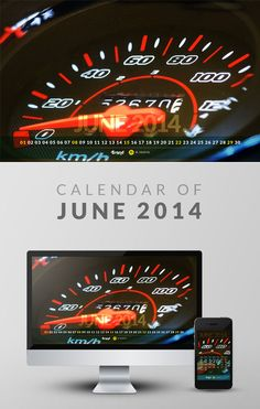 Free Wallpaper Calendar of June 2014