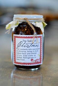 Simmering Scent Mason Jar