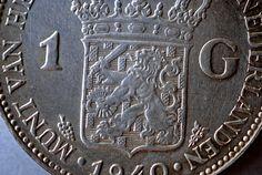 Netherlands 1 Gulden 1940 (detail)