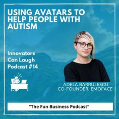 In this episode of Innovators Can Laugh, I sat down with Adela Barbulescu, co-founder of Emoface. We discuss how to build the perfect work day, who'd she want on her team in an escape room, and the technology she is developing to help treat people with autism. Things To Think About, Things To Come, Research Assistant, What Can I Do, Treat People, Co Founder, Facial Expressions, Cinematography, Helping People
