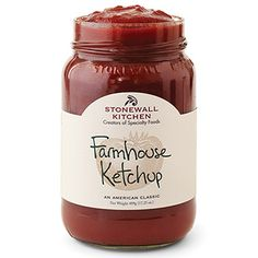 Farmhouse Ketchup - we've gone back to the basics with this rich, thick, tomato-y ketchup. Just made with fresh, vine-ripened tomatoes and a few simple spices you can enjoy the goodness of true tomato flavor.