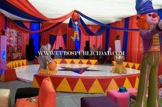 Resultado de imagen para fiestas tematicas de circo