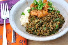 The Whole Life Nutrition Kitchen: Lentil and Kale Dal + a Video!