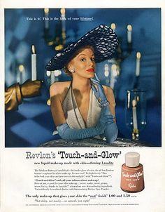 Revlon (Cosmetics) 1950 John-Frederics (Couture Hat)