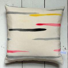 pink, yellow, grey half-stripes