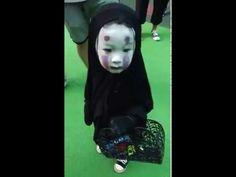 คลิปหนูน้อยฮาโลวีน Halloween Girl ที่ทำให้เด็กคนนี้ดังในชั่วข้ามคืน