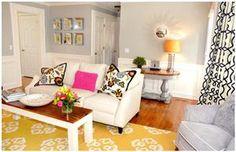 Contemporary (Modern, Retro) Living Room by Joann Kandrac/Kelly Kole