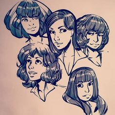 Yesterday night playing with the #micron brush ! ::: Hier soir j'ai testé le stylo brush de Micron !  #drawing #brush #wip Support my work on #Patreon : http://ift.tt/1RqclZE