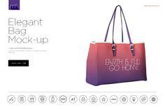 Elegant Bag Mock-up by mesmeriseme.pro on @creativemarket