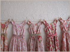 Vintage style tea dresses