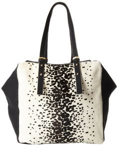 French Connection Metal Corner FCHB0024 Hobo,White Leopard,One Size French Connection, HANDBAGS if you wish to buy just CLICK on AMAZON right HERE http://www.amazon.com/dp/B00DUQEDYK/ref=cm_sw_r_pi_dp_iBe3sb153Y5YKW6C