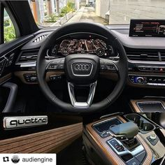 #Repost @audiengine with @repostapp   Focus on the details.   Car: 2017 Audi Q7 HP: 3.0L TFSI Supercharged V6 333hp 0-62mph/100kph: 5.5 seconds  #audi #q7 #audiq7 #sq7 #audisq7 #supercar #sportscar #quattro #avant #photooftheday #unique #love #yolo #speed #qauto #luxury #audir8 #wantanr8 #rs #teamaudi #beautiful #amazingcars247 #cars #photography #follow #instacool #instamood #supercar