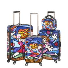 Picture of Britto By Heys Love Blossoms 4 PC Set