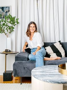 This Simple Styling Trick Made My NYC Apartment Feel 10 Times Bigger via @MyDomaine