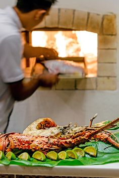 Tuck into South Pacific flavors cooked on a wood-fired stove or a traditional lovo oven. #Jetsetter