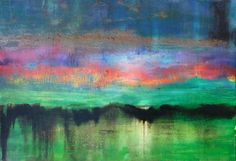 "Saatchi Online Artist Fabien Bruttin; Painting, ""Mountain 4"""