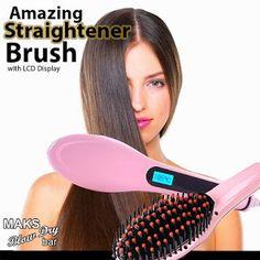 Product Reviews : MAKS Blow Dry Straightener Brush
