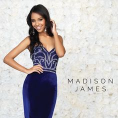 Madison James Special Occasion collection I Bridesmaid or Formal Dresses I Blue Wedding