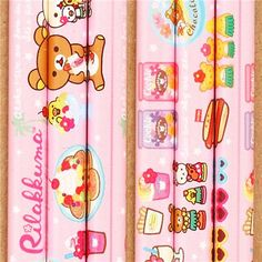 kawaii pink Aloha Rilakkuma bear Hawaii pencil Japan