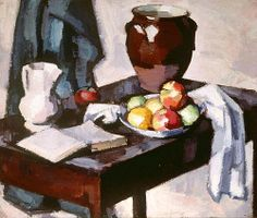 S J Peploe  Still Life with Crock  1917