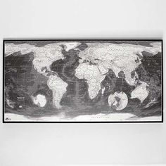 The Future Mapping Company Monochrome Map now featured on Fab.