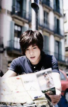 So handsome ♡ Kim Hyun Joong 김현중 ♡ Kpop ♡ Kdrama ♡ long hair ♡ SS501 ❤ ^^