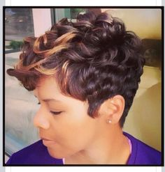 Short styles Like A River Salon, Atlanta GA