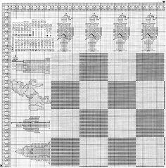 tengo muchos patrones de punto de cruz. (pág. 41) | Aprender manualidades es facilisimo.com Cross Stitch Games, Cross Stitch Bookmarks, Cross Stitch Charts, Cross Stitch Designs, Cross Stitch Patterns, Bead Patterns, Cross Stitching, Cross Stitch Embroidery, Blackwork Patterns