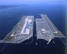 Osaka/Kansai International...smooth landings and take-off the two times I've been there.