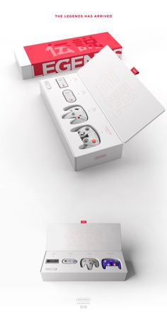 An Awesome Minimalist Redesign of Nintendo's Classic Controllers - UltraLinx