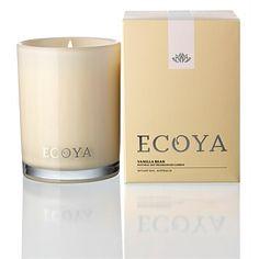 Living & Giving - Ecoya Madison Jar Candle Vanilla Bean 400g