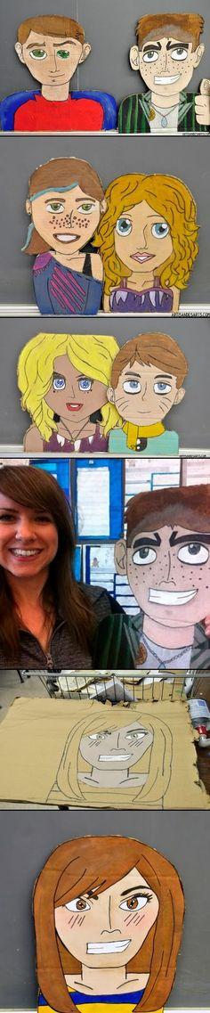 artisan des arts: The world's best grade 6 grad portraits!
