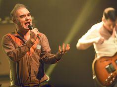 Morrissey tritt im Colosseum Theater in Essen auf.