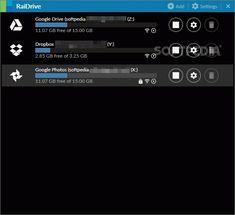 8 Best Network Drive Control lets you set up Advanced Drive