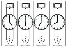 Your class will love this fun activity to practice telling time to the hour and half hour. Each child is given a paper wrist watch to wear and a scavenger hunt list of times to find. Then they walk around the room reading their friends watches. :)