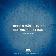 Romanos 8:28 Y sabemos que a los que aman a Dios, todas las cosas les ayudan a…