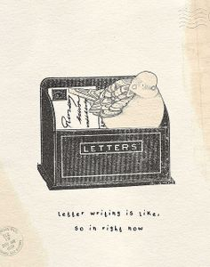 Letterbird by Little Doodles, via Flickr