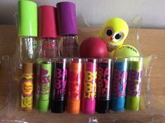 My collection Babylips