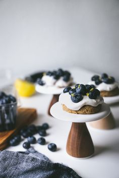 Vegan Blueberry Shor