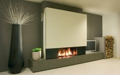 Habillage de cheminée M Design