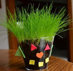 i did this with fourth graders to make Easter baskets, but this is perfect for preschoolers!