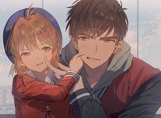 Cardcaptor Sakura, CLAMP, brother and sister / 木之本 兄妹 - pixiv Cardcaptor Sakura, Sakura Card Captor, Sakura Kinomoto, Syaoran, Anime Guys, Manga Anime, Anime Art, Anime Love Couple, Cute Anime Couples